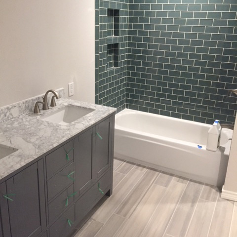 Finished Bathroom Remodel