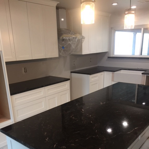 Kitchen Remodeling - White and Black