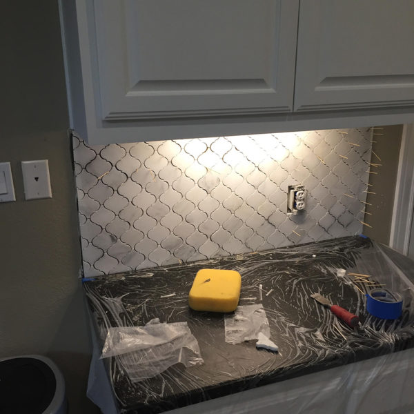 Kitchen Wall Tiling
