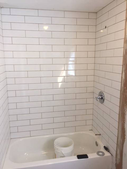 Bathtub Tiling Done